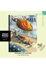 New York Puzzle Co Dog Days of Summer Mini 100pc