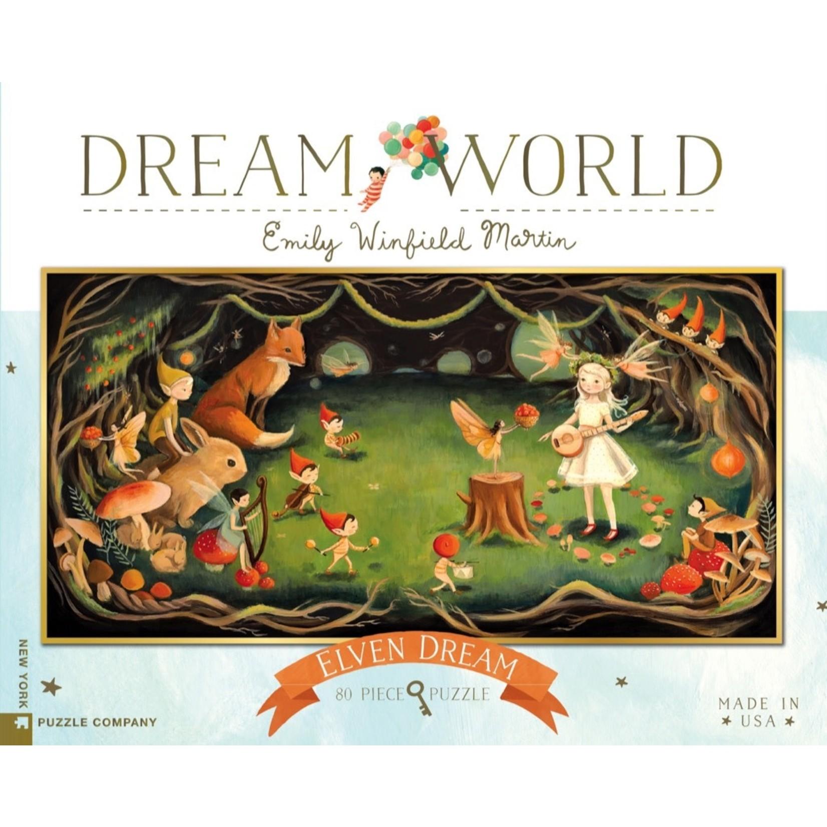 New York Puzzle Co Elven Dream 80pc