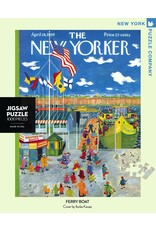 New York Puzzle Co Ferry Boat 1000pc