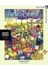 New York Puzzle Co Flower Garden 1000pc