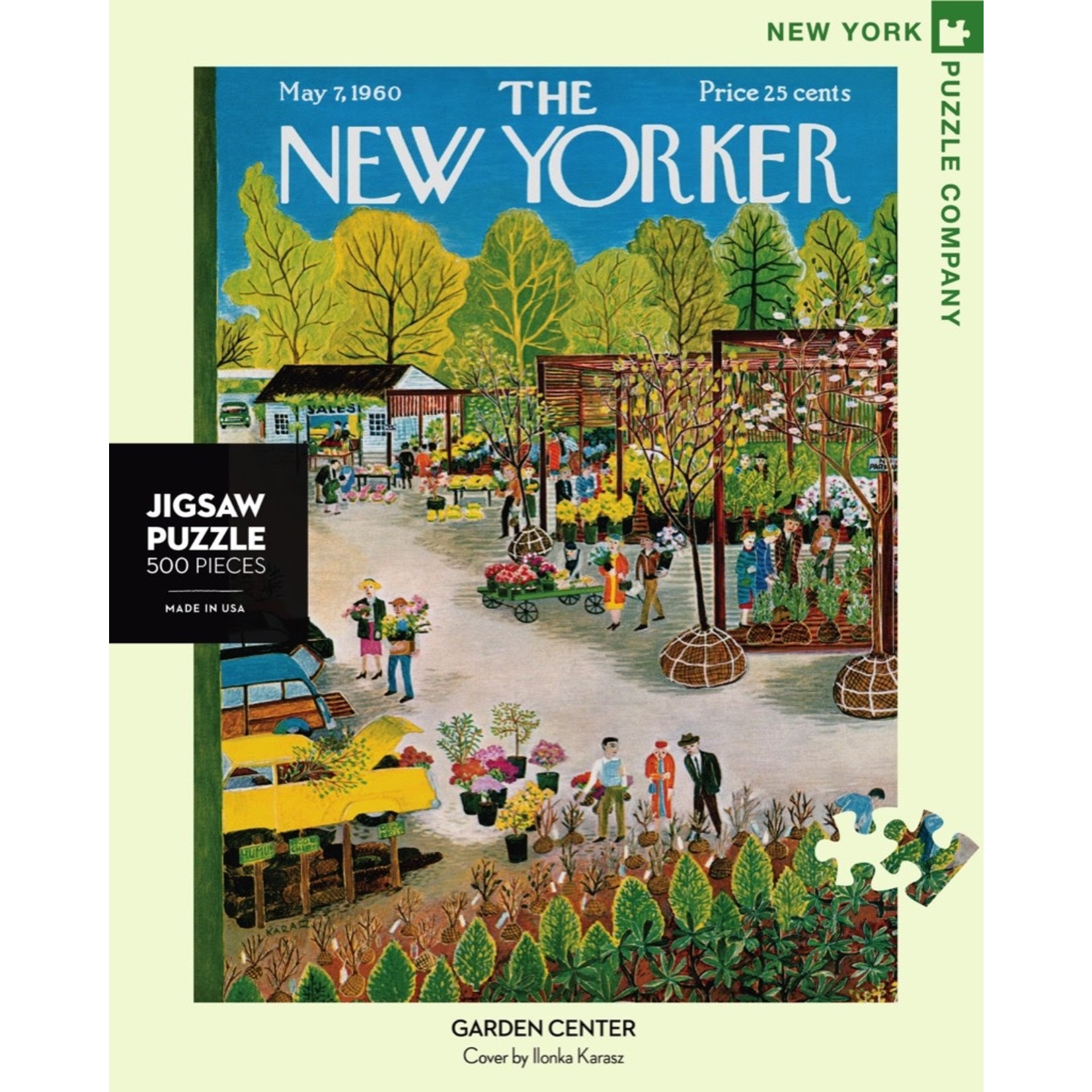 New York Puzzle Co Garden Center 500pc