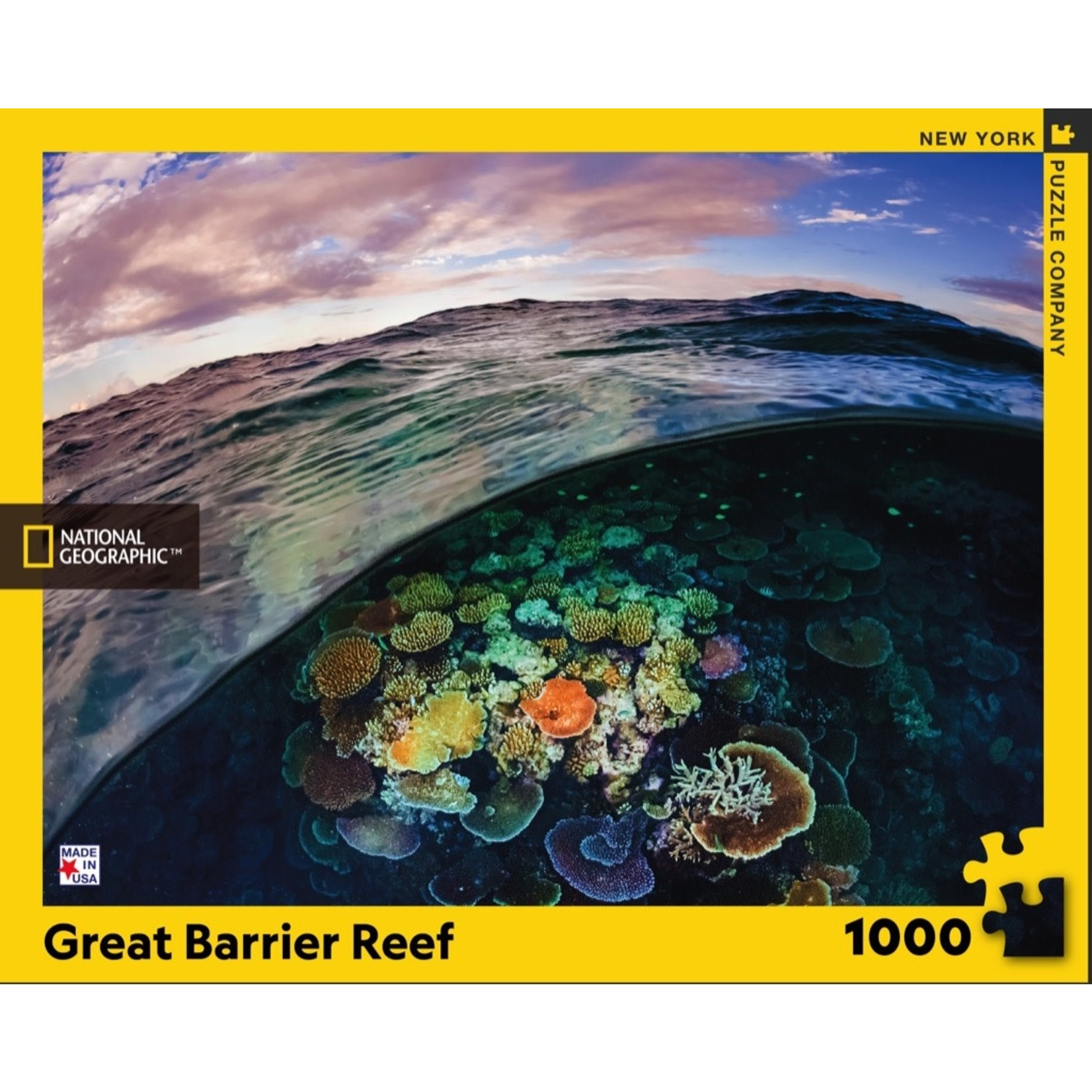 New York Puzzle Co Great Barrier Reef 1000pc