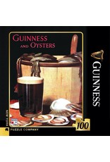New York Puzzle Co Guinness and Oysters Mini 100pc