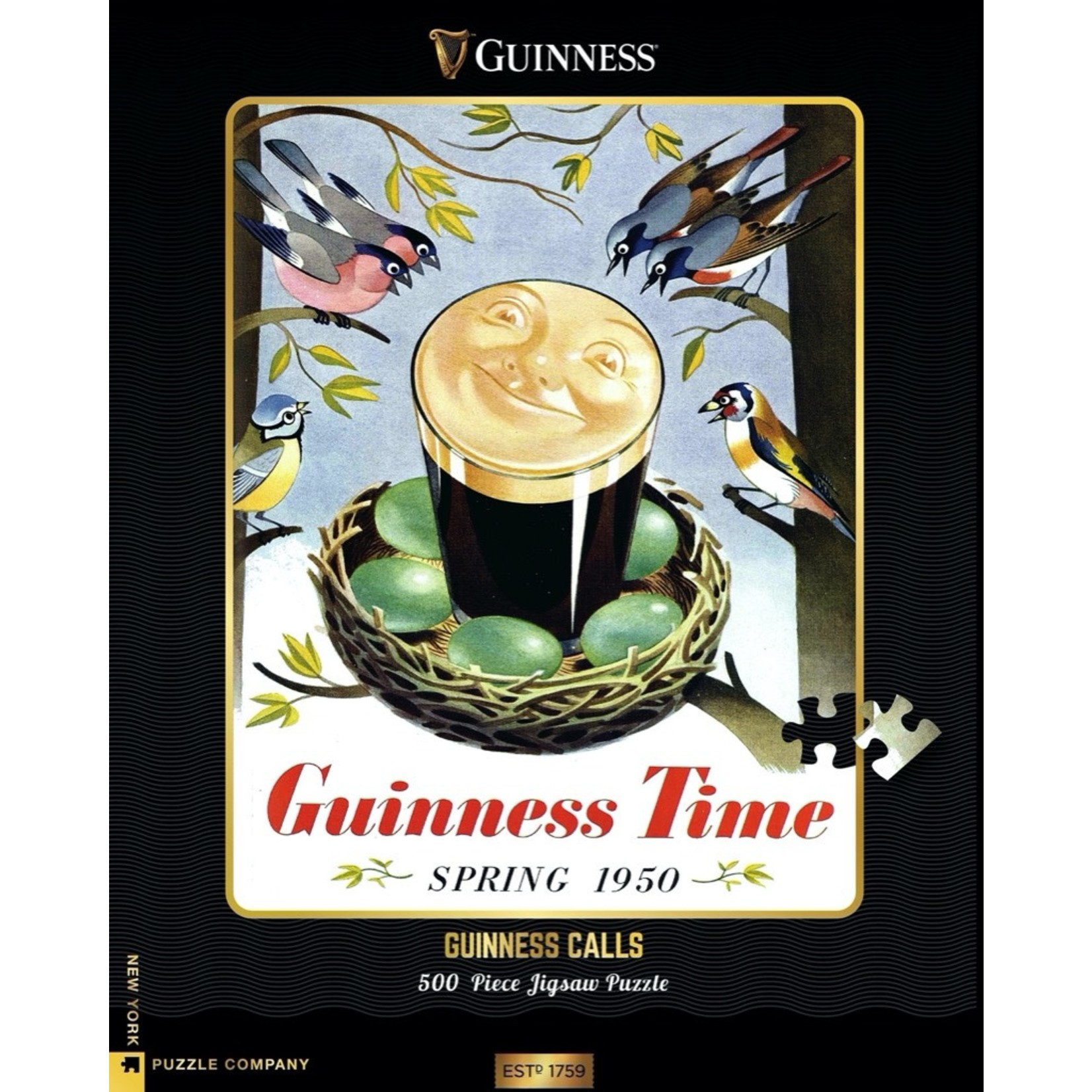 New York Puzzle Co Guinness Calls 500pc
