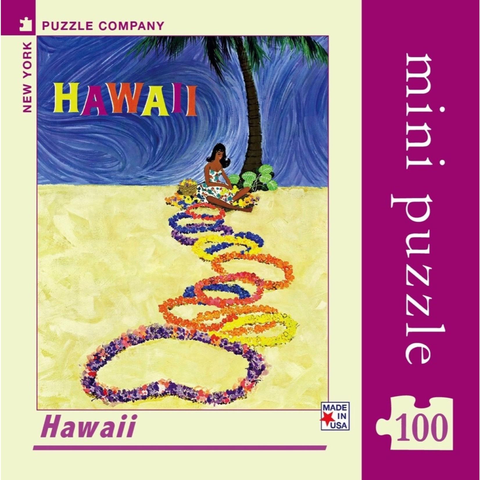 New York Puzzle Co Hawaii Mini 100pc
