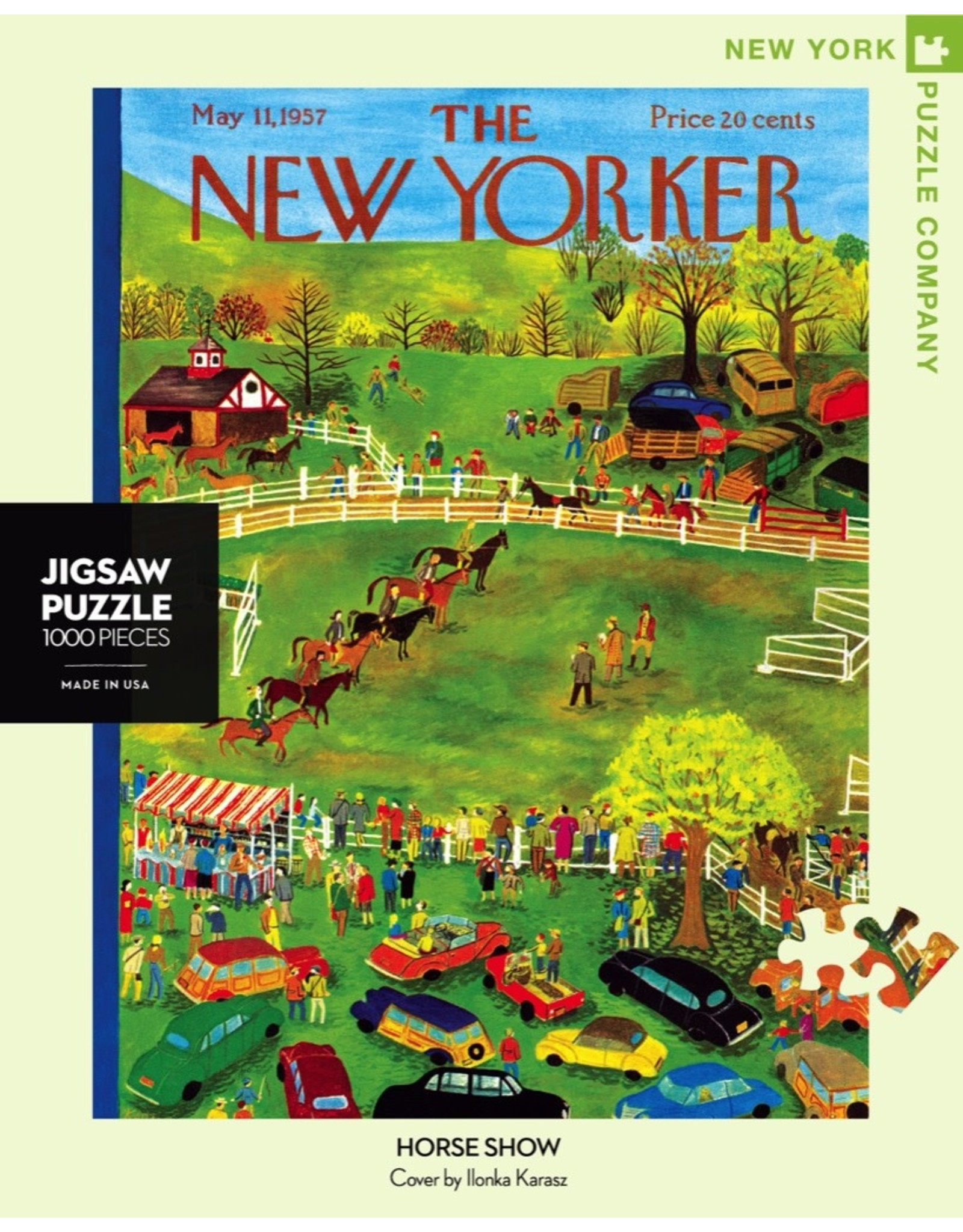 New York Puzzle Co Horse Show 1000pc