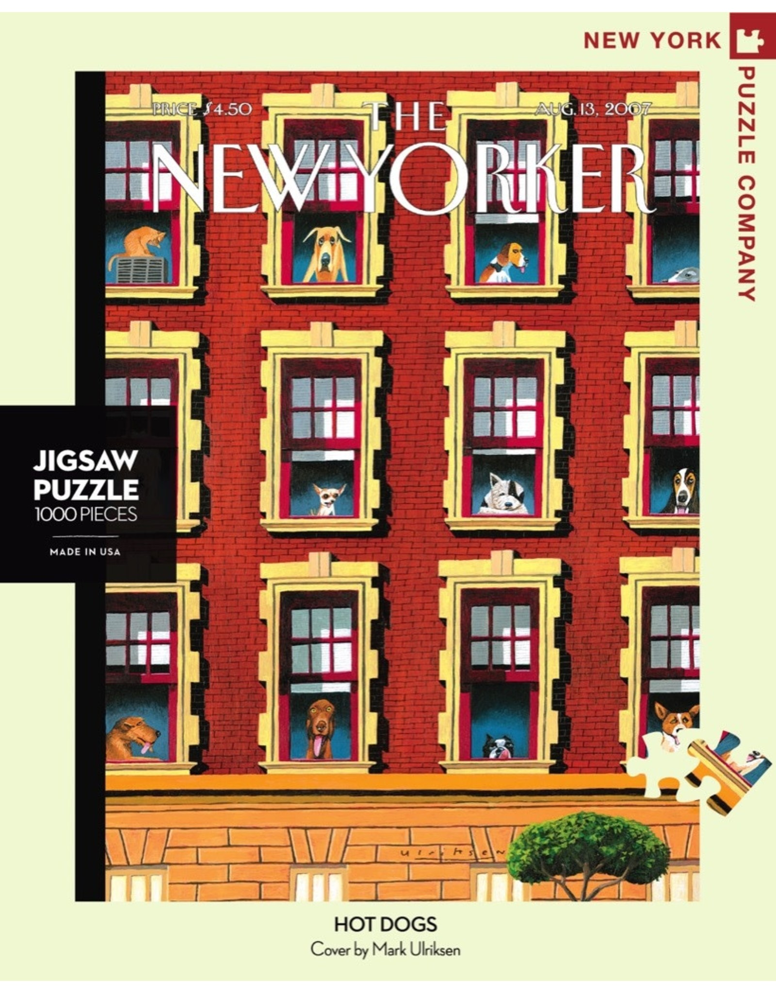 New York Puzzle Co Hot Dogs 1000pc