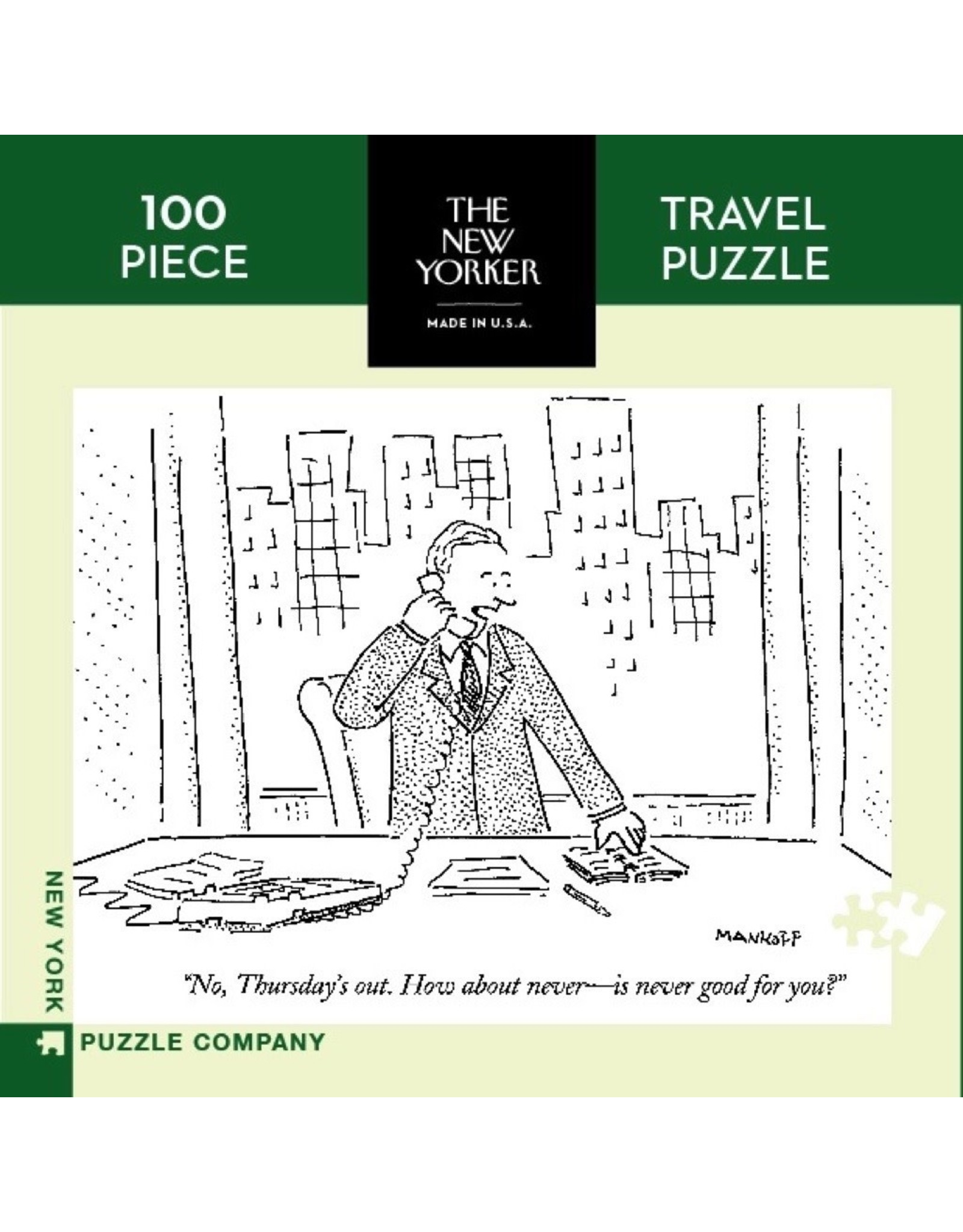 New York Puzzle Co How About Thursday Mini 100pc