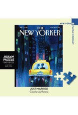 New York Puzzle Co Just Married Mini 100pc