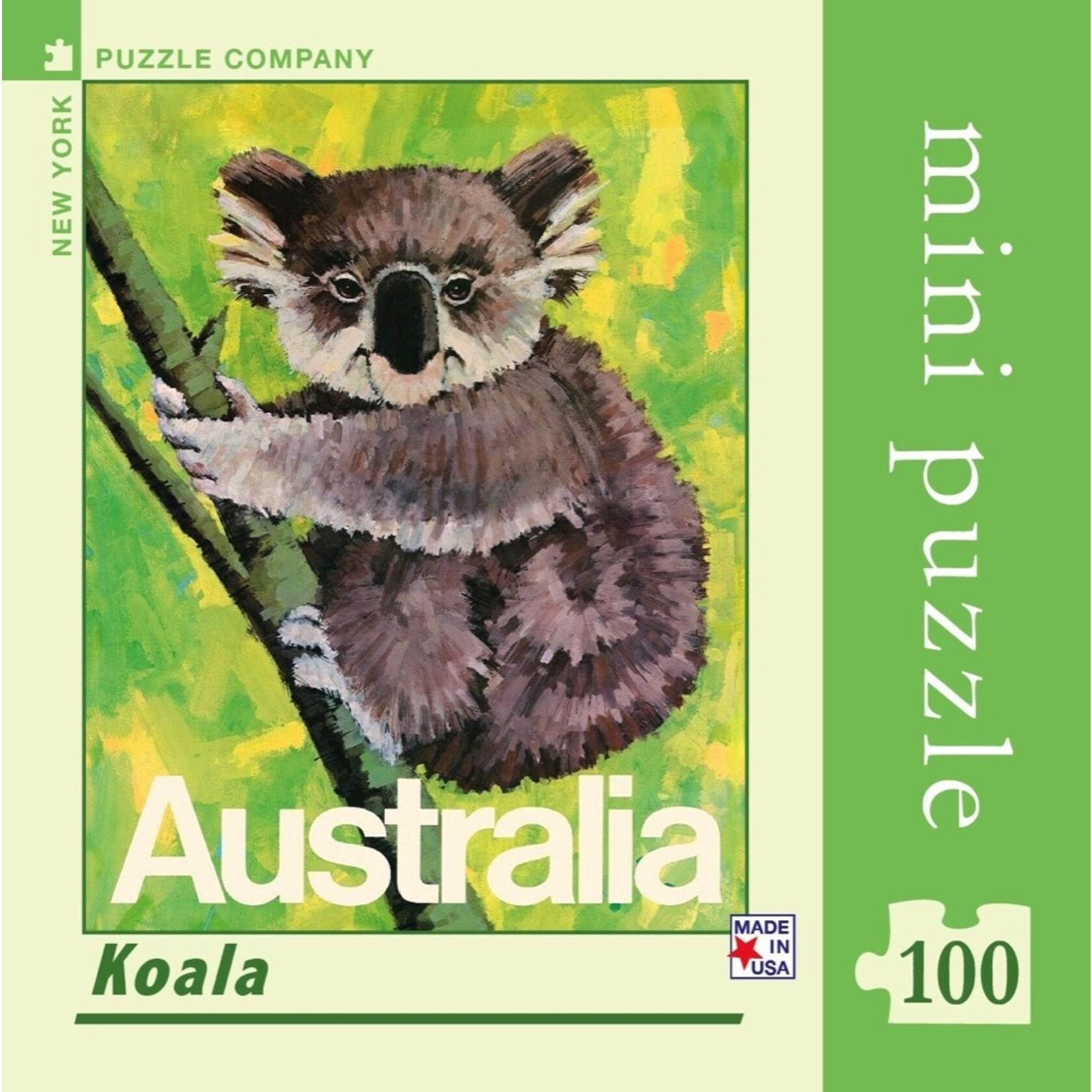 New York Puzzle Co Koala Mini 100pc