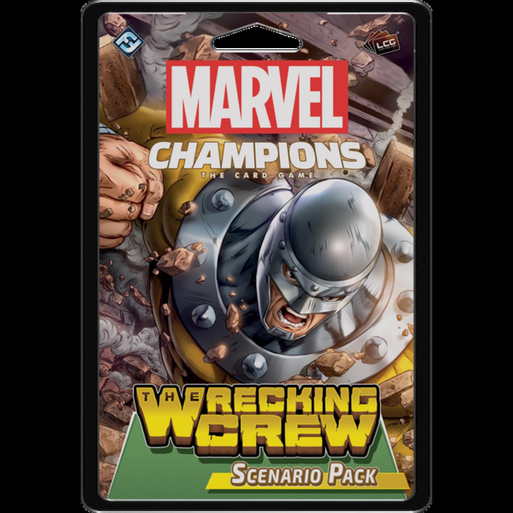 Fantasy Flight Games Marvel LCG: Wrecking Crew