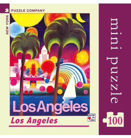 New York Puzzle Co Los Angeles Mini 100pc