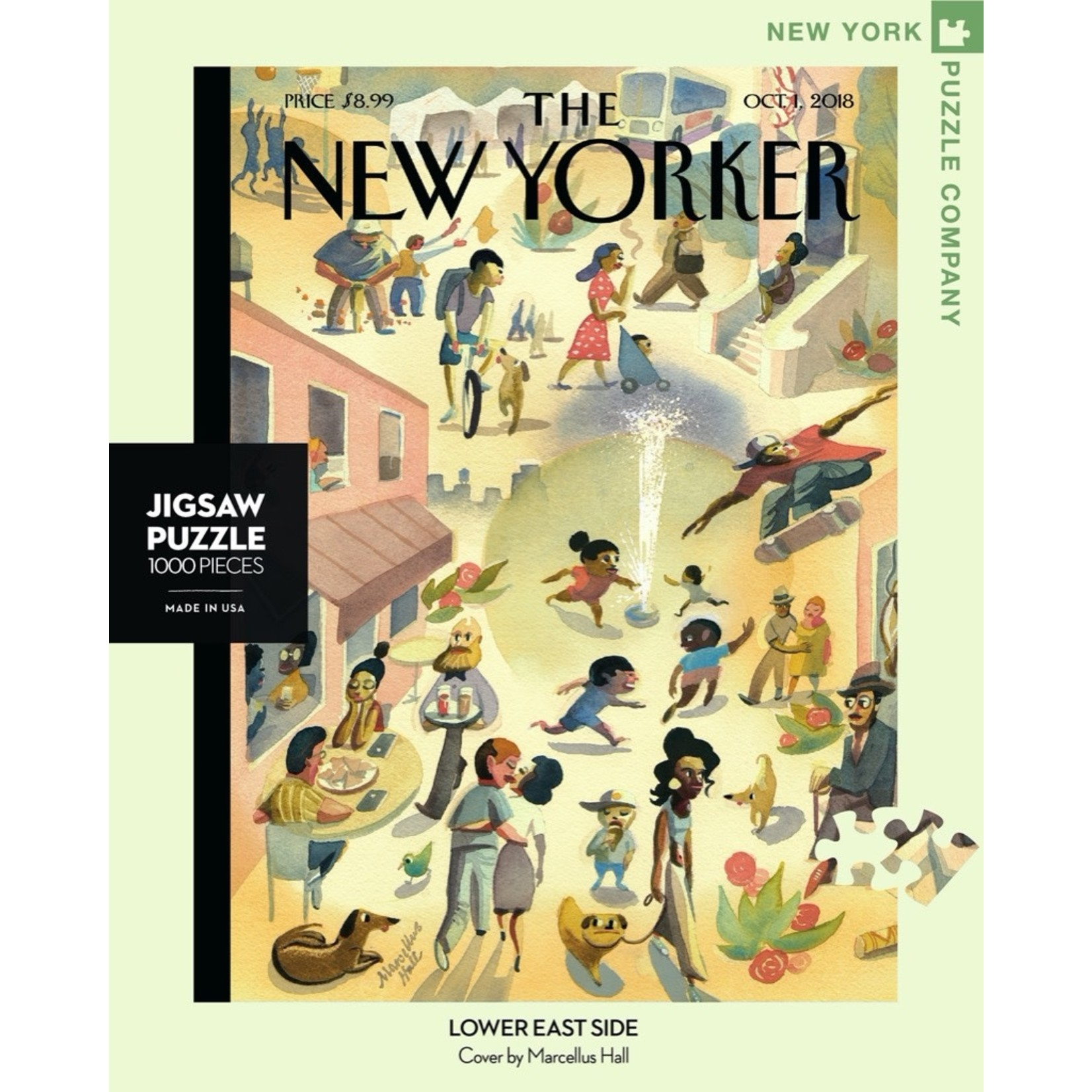 New York Puzzle Co Lower East Side 1000pc
