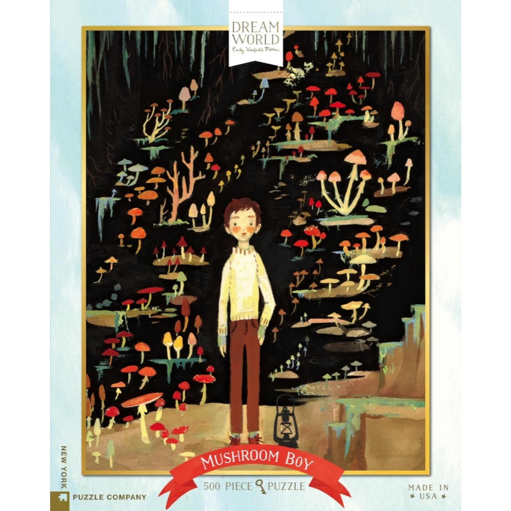 New York Puzzle Co Mushroom Boy 500pc