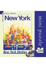 New York Puzzle Co NYC Skyline Mini 100pc