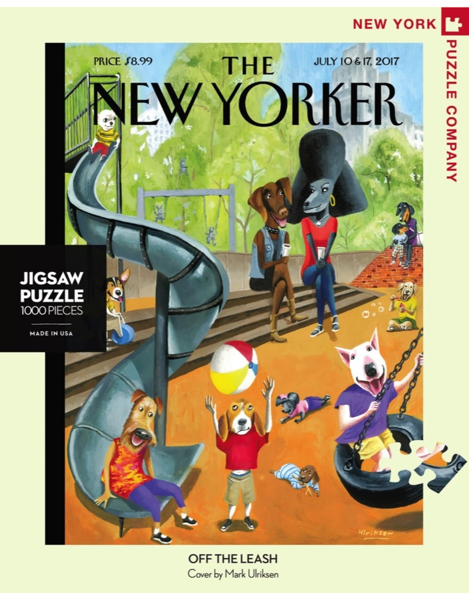 New York Puzzle Co Off the Leash 1000pc