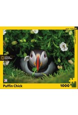 New York Puzzle Co Puffin Chick 1000pc