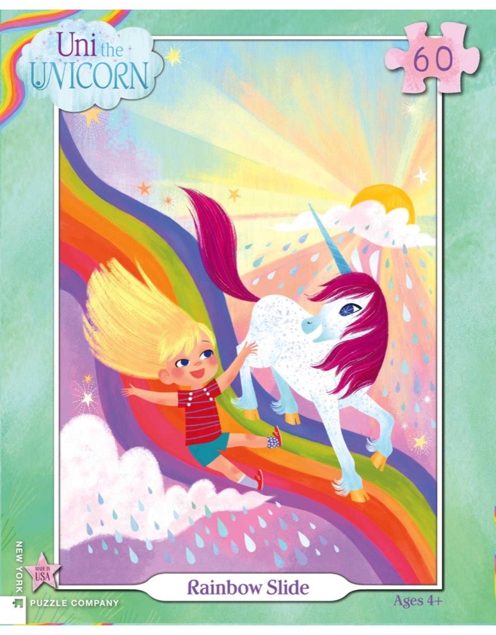 New York Puzzle Co Rainbow Slide 60pc