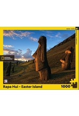 New York Puzzle Co Rapa Nui Easter Island 1000pc