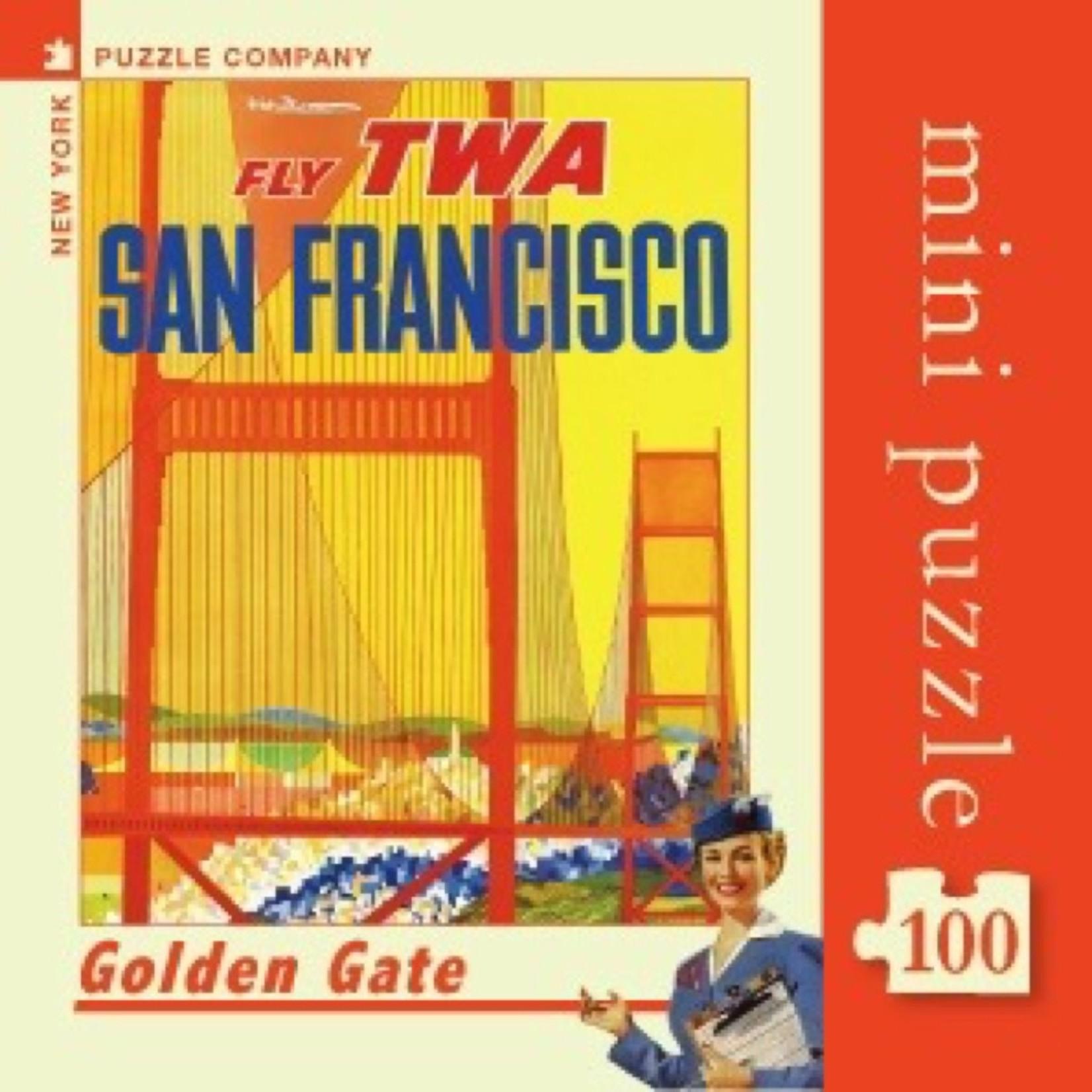 New York Puzzle Co San Francisco Mini 100pc