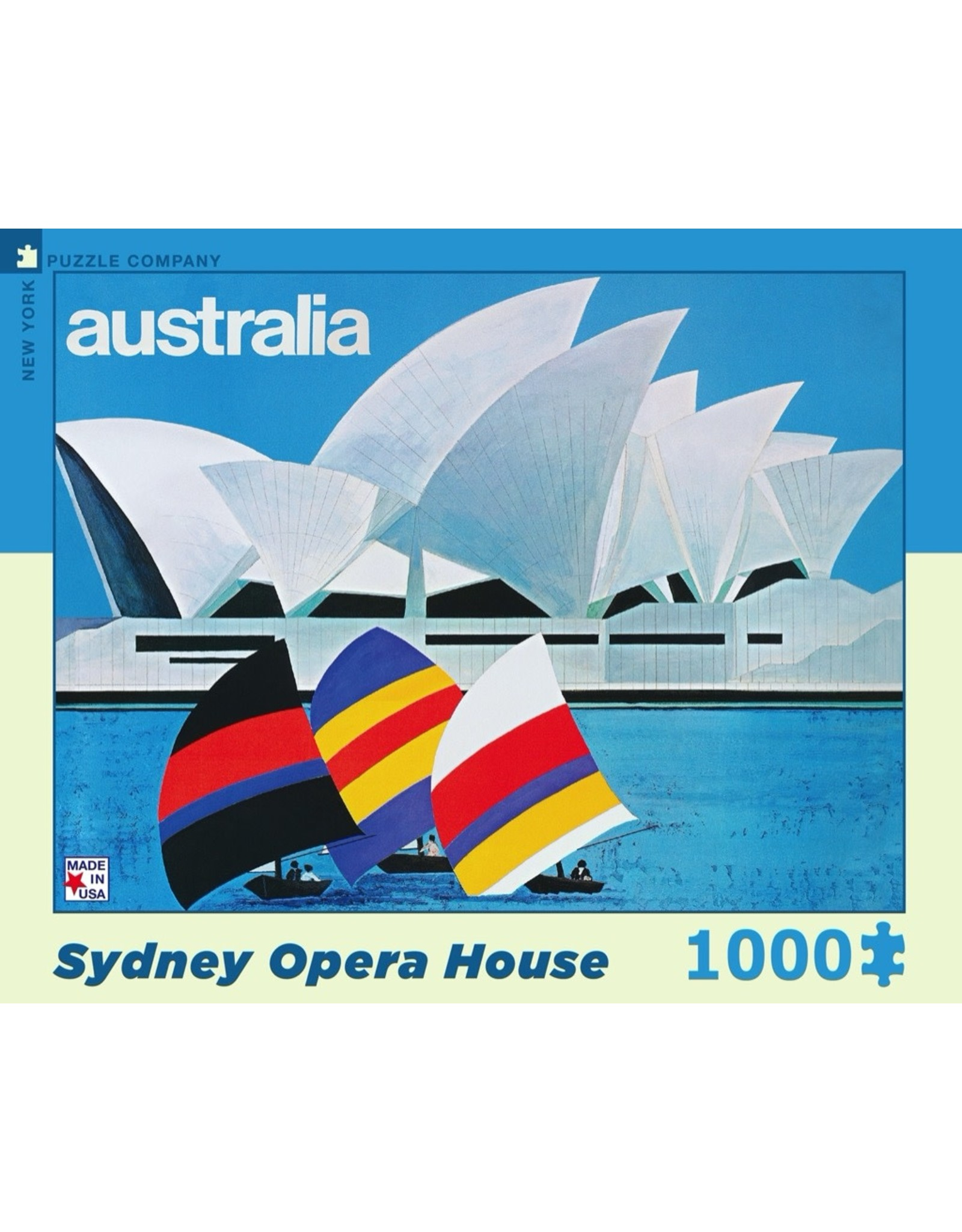 New York Puzzle Co Sydney Opera House 1000pc