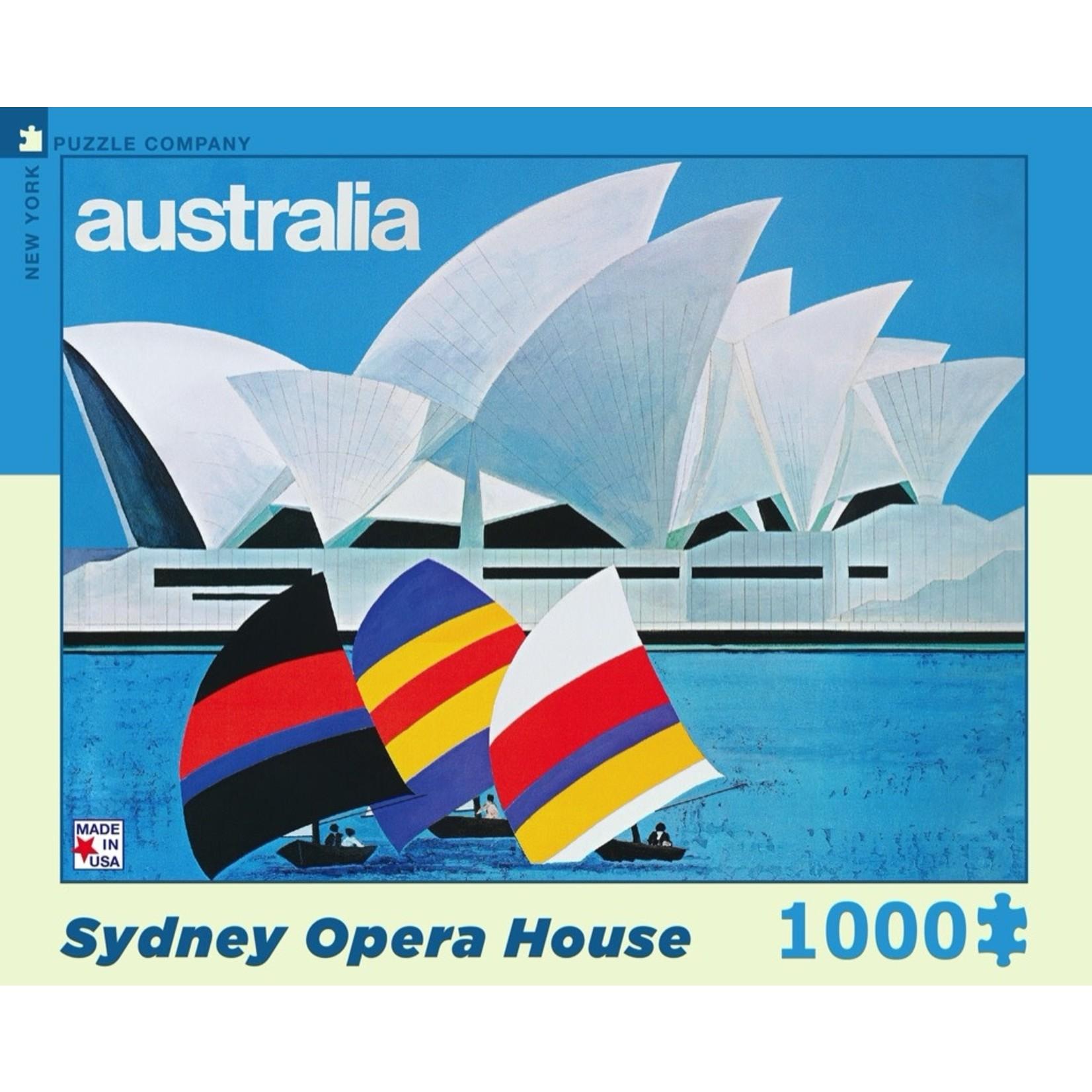 New York Puzzle Co Sydney Opera House 1000pc
