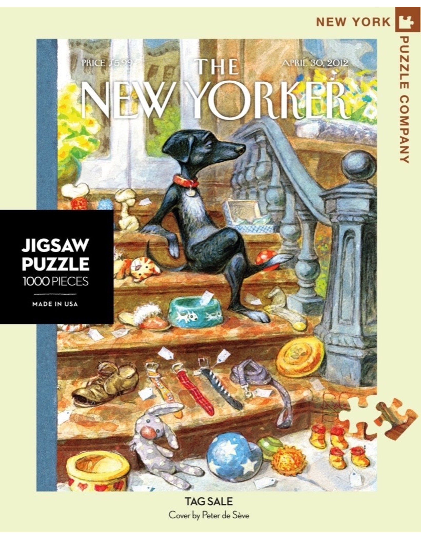 New York Puzzle Co Tag Sale 1000pc