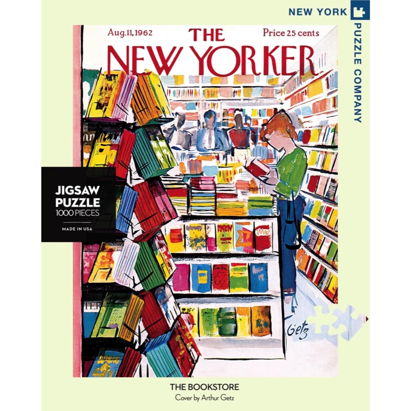 New York Puzzle Co The Bookstore 1000pc