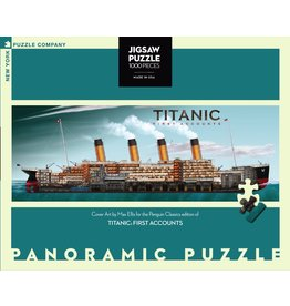 New York Puzzle Co Titanic First Accounts 1000pc
