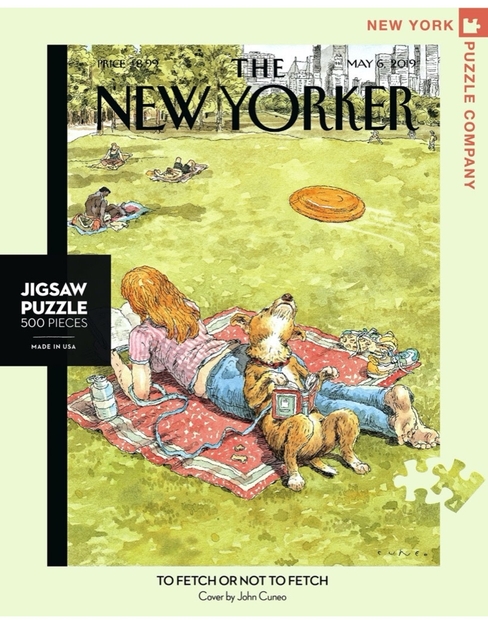 New York Puzzle Co To Fetch or Not To Fetch 500pc