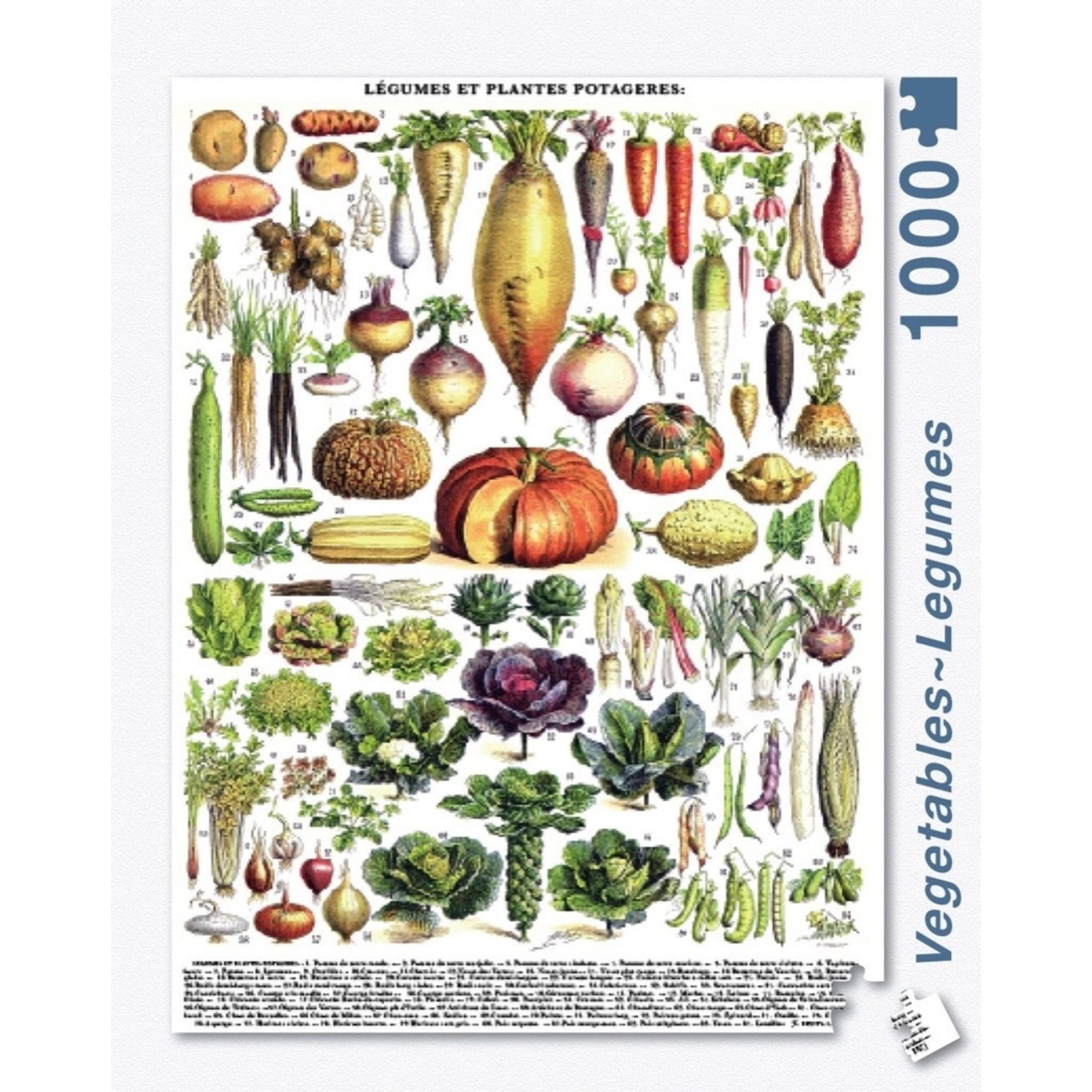 New York Puzzle Co Vegetables 1000pc
