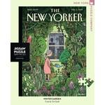 New York Puzzle Co Winter Garden 500pc