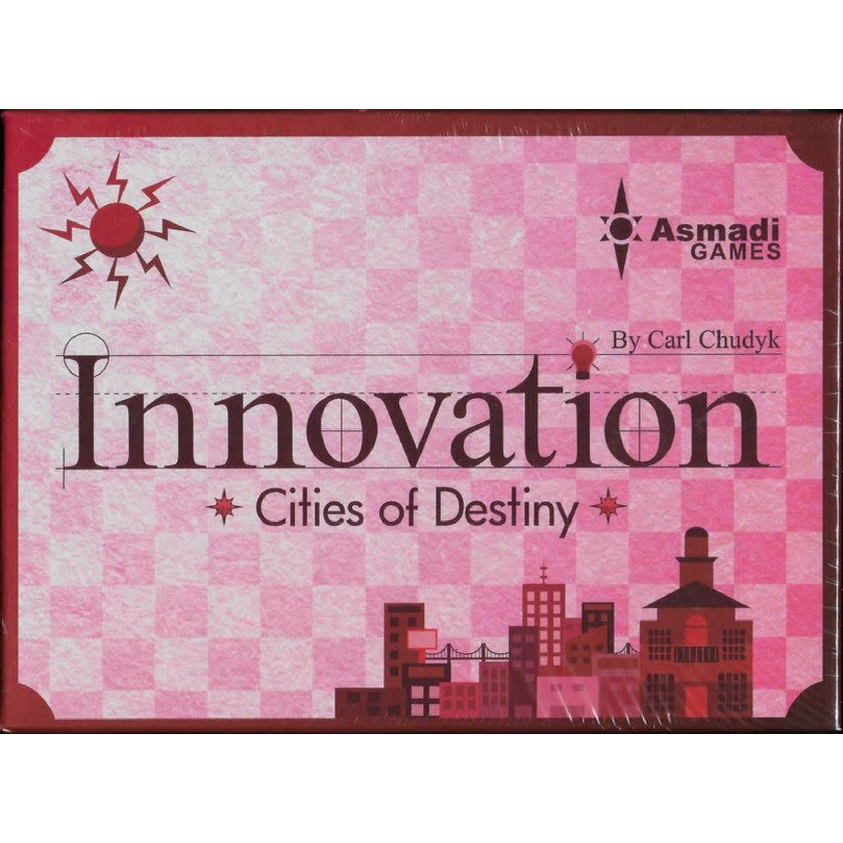 Asmadi Innovation: Cities of Destiny