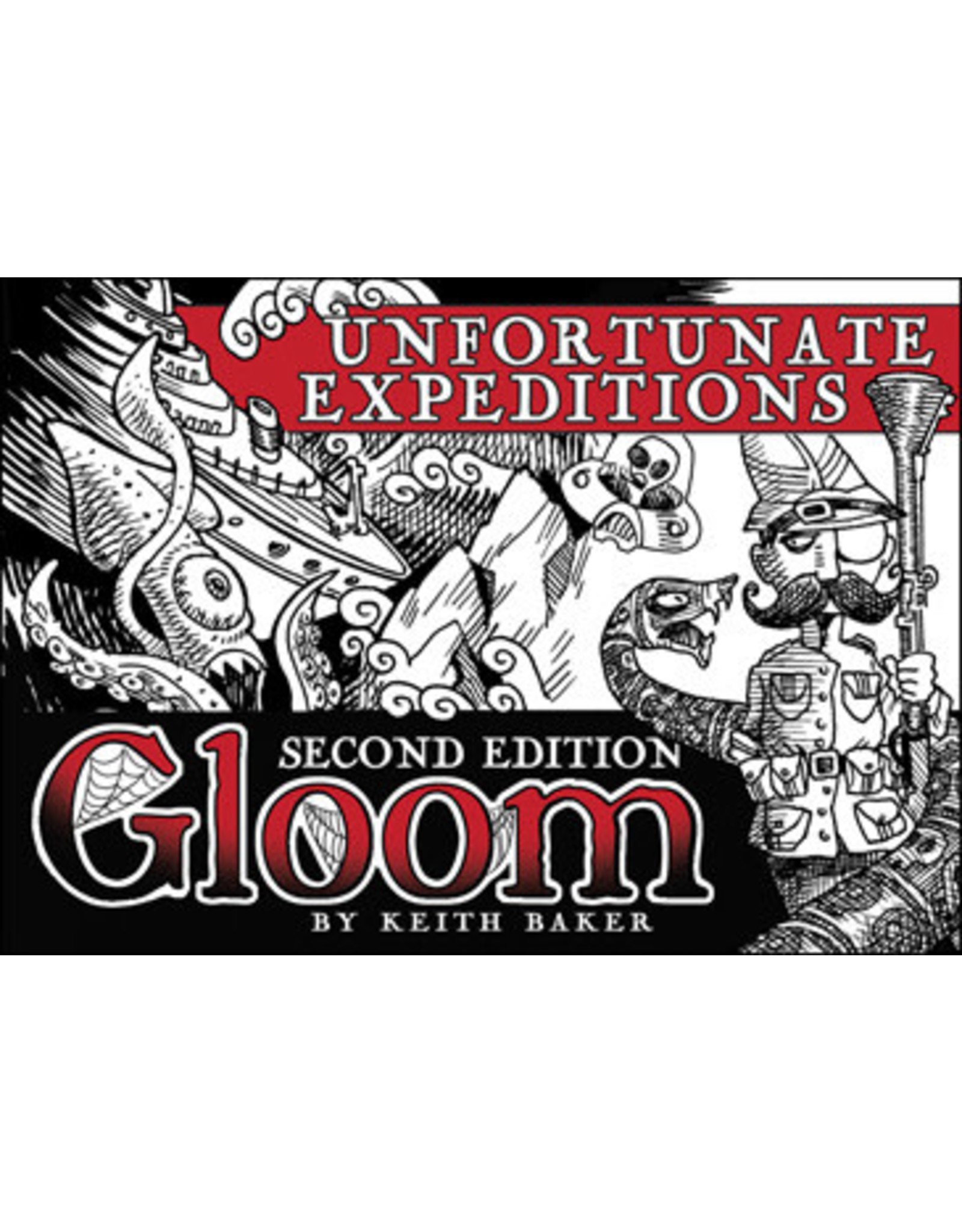 Gloom: Unfortunate Expeditions Exp 2nd Ed