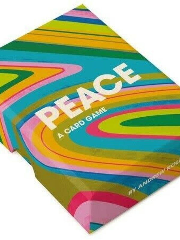 Chronicle Books Peace A Card Game