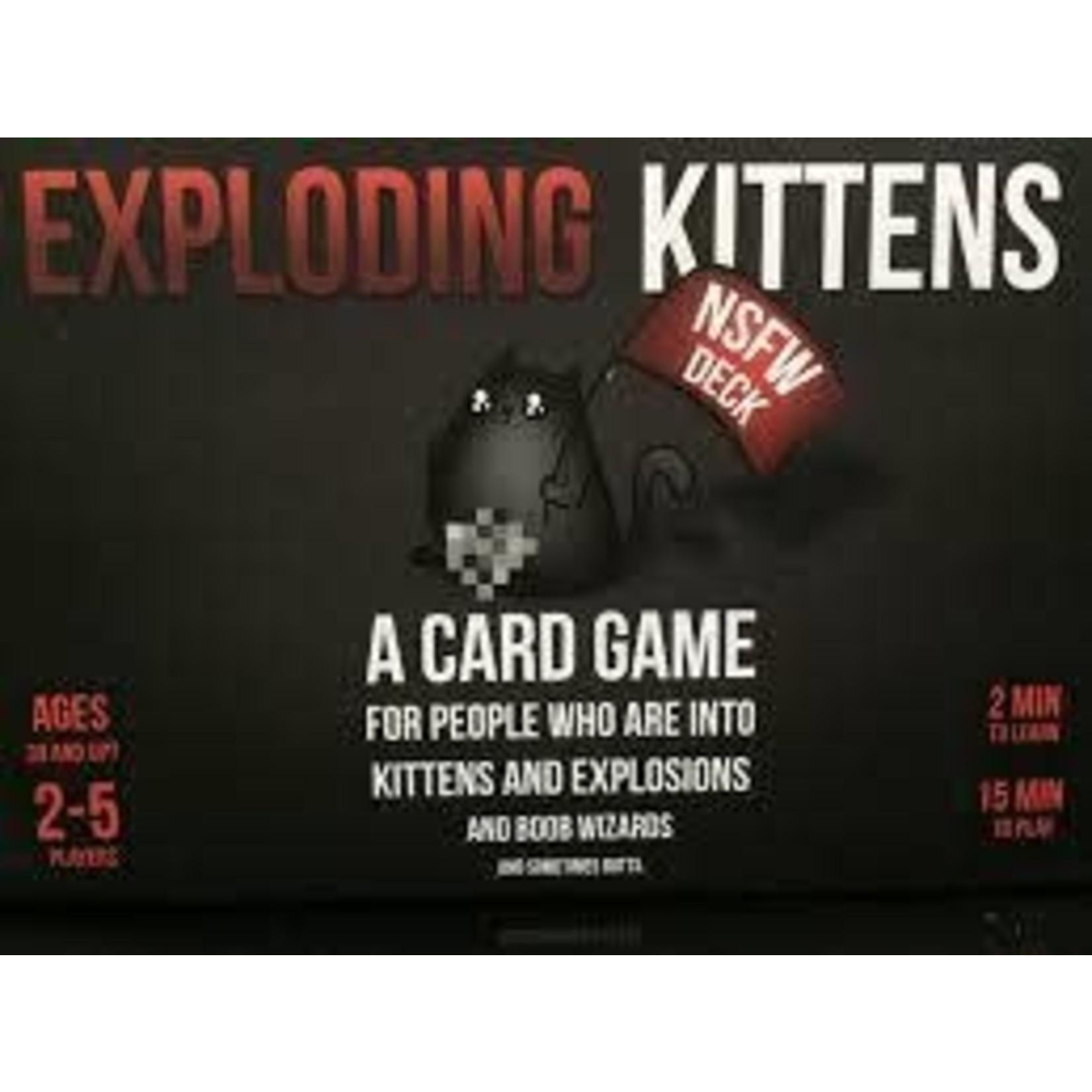 Exploding Kittens Exploding Kittens NSFW Ed.