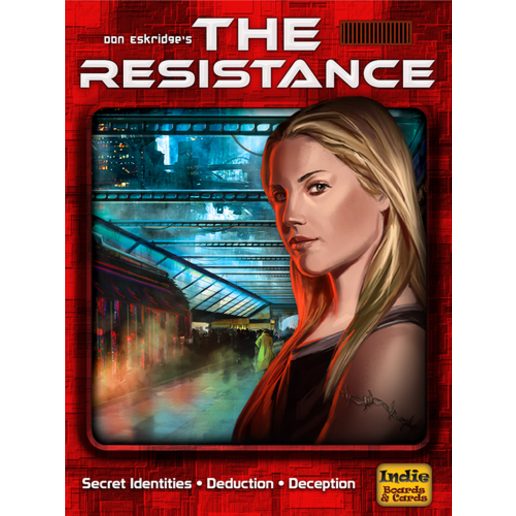Indie Boards & Cards The Resistance 3rd Ed