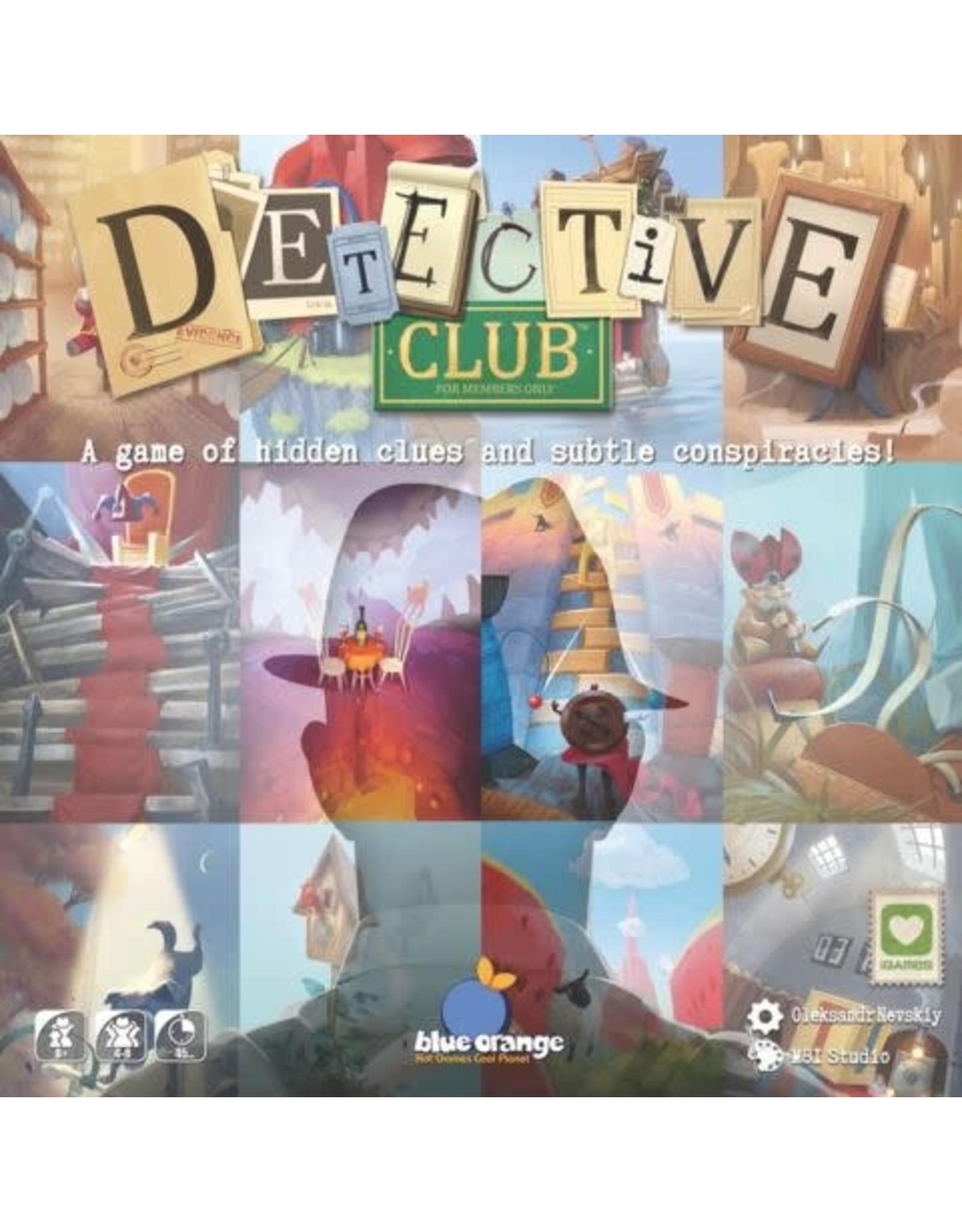Blue Orange Games Detective Club