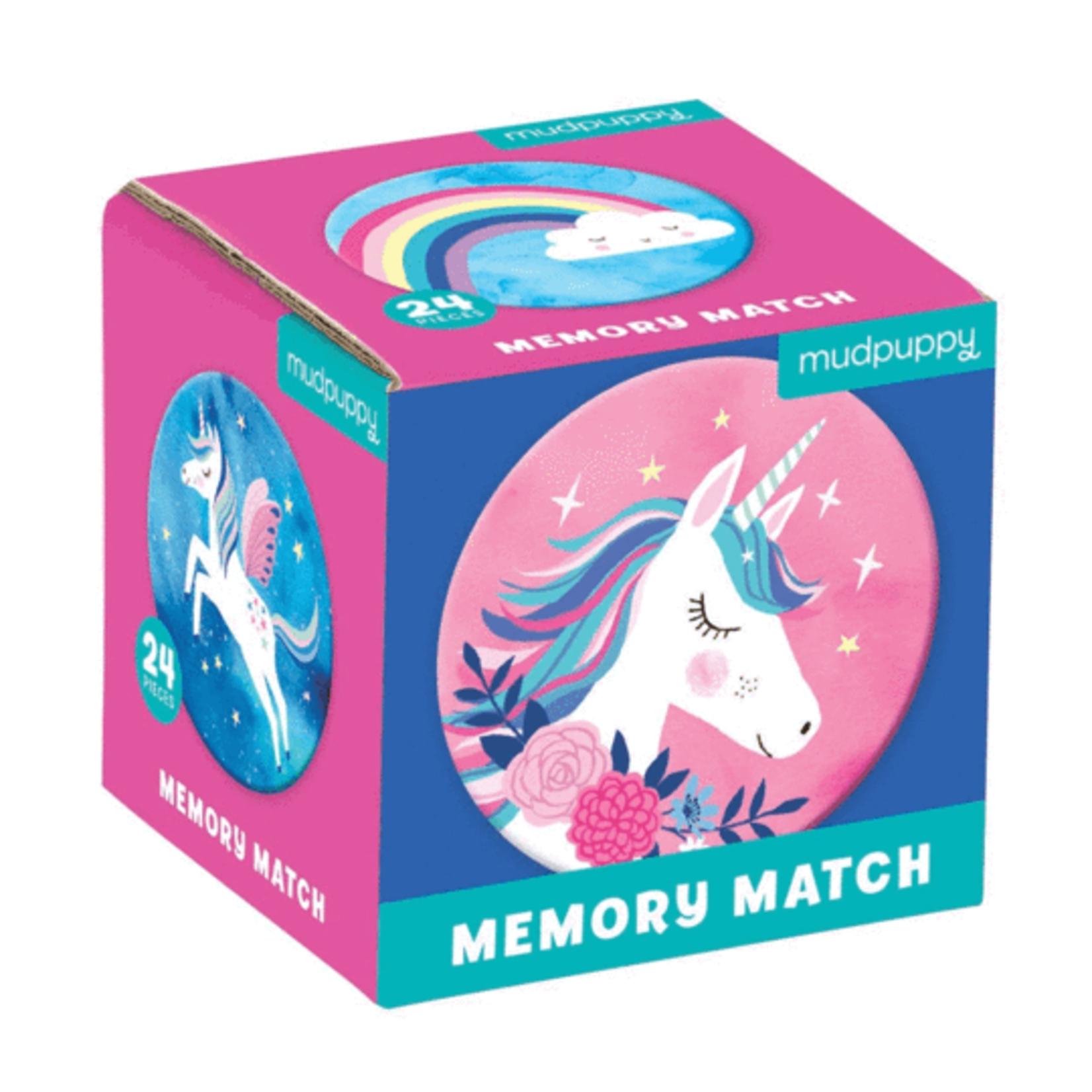 Mudpuppy Unicorn Magic Memory Match
