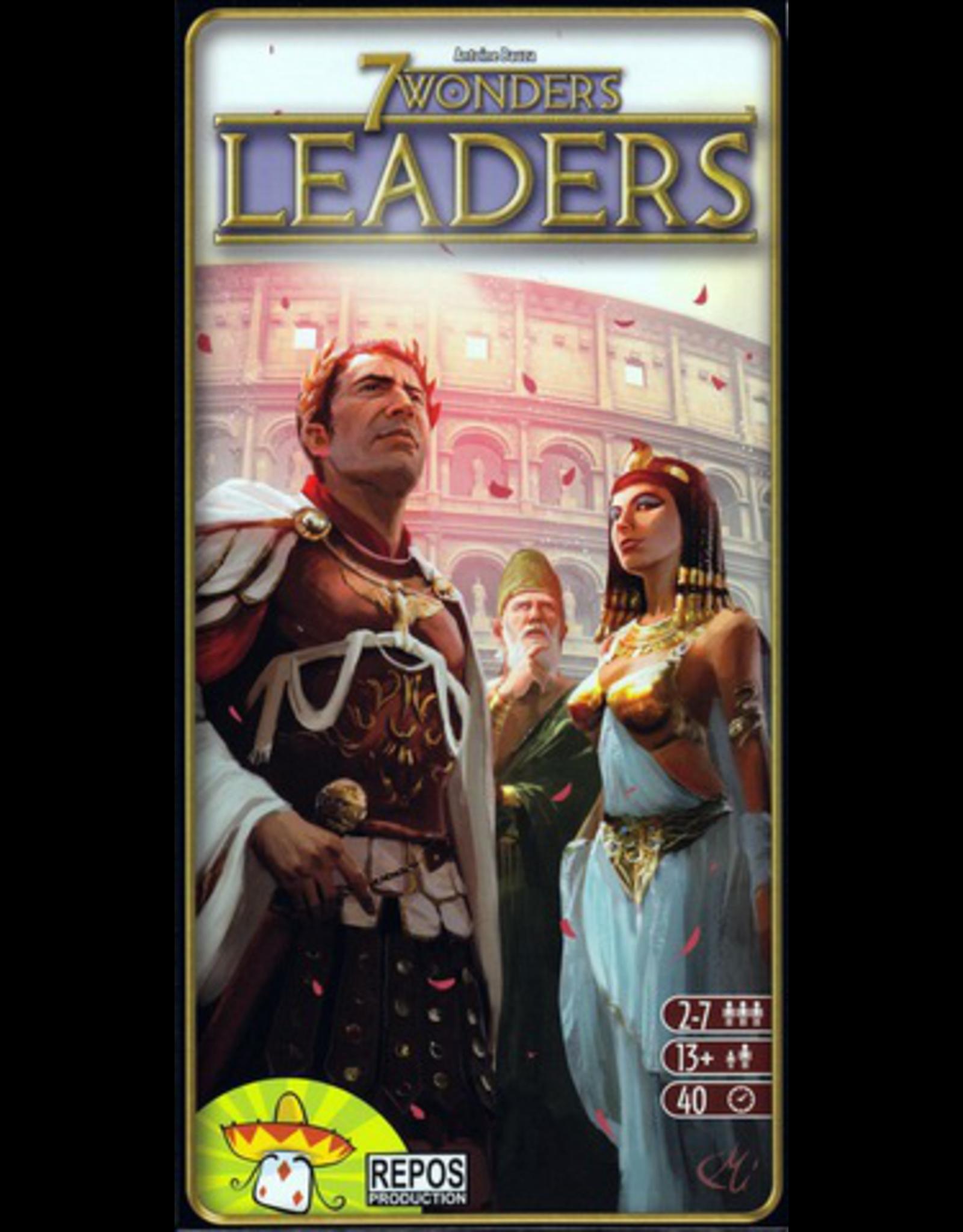 Asmodee 7 Wonders: Leaders Exp
