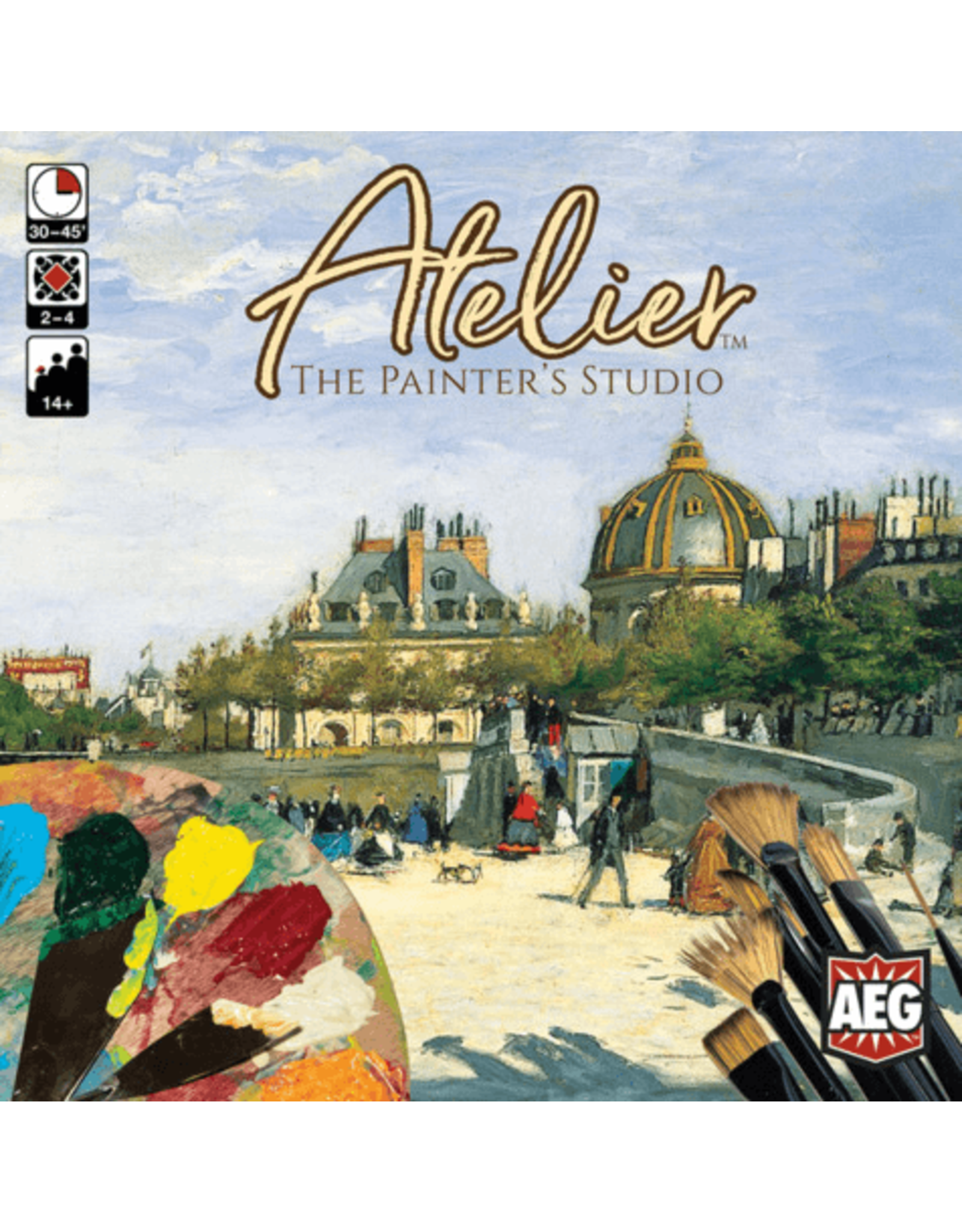 Alderac (AEG) Atelier: The Painter's Studio