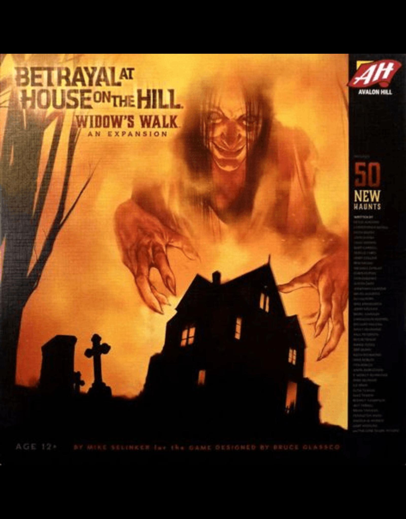 Avalon Hill Betrayal: Widows Walk