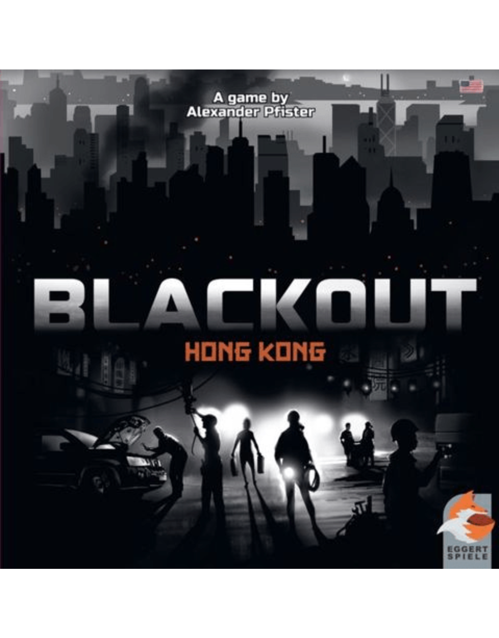 Eggertspiele Blackout Hong Kong