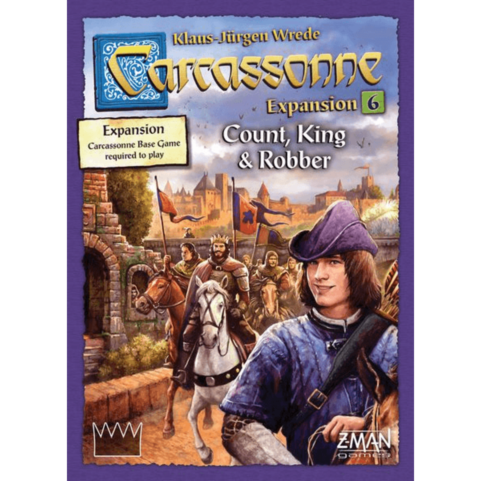 Z-Man Games Carcassonne: Count, King, & Robber