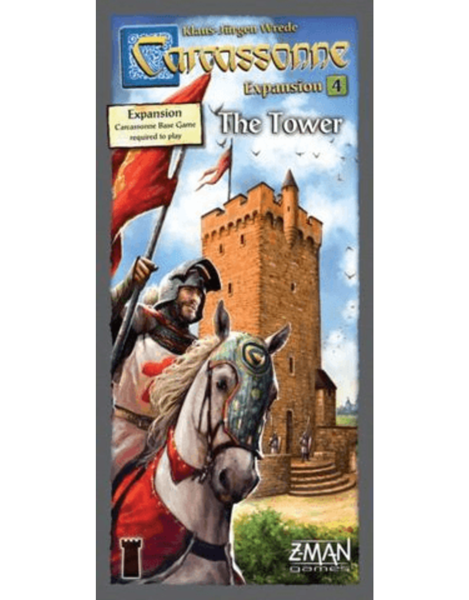Z-Man Games Carcassonne: Tower