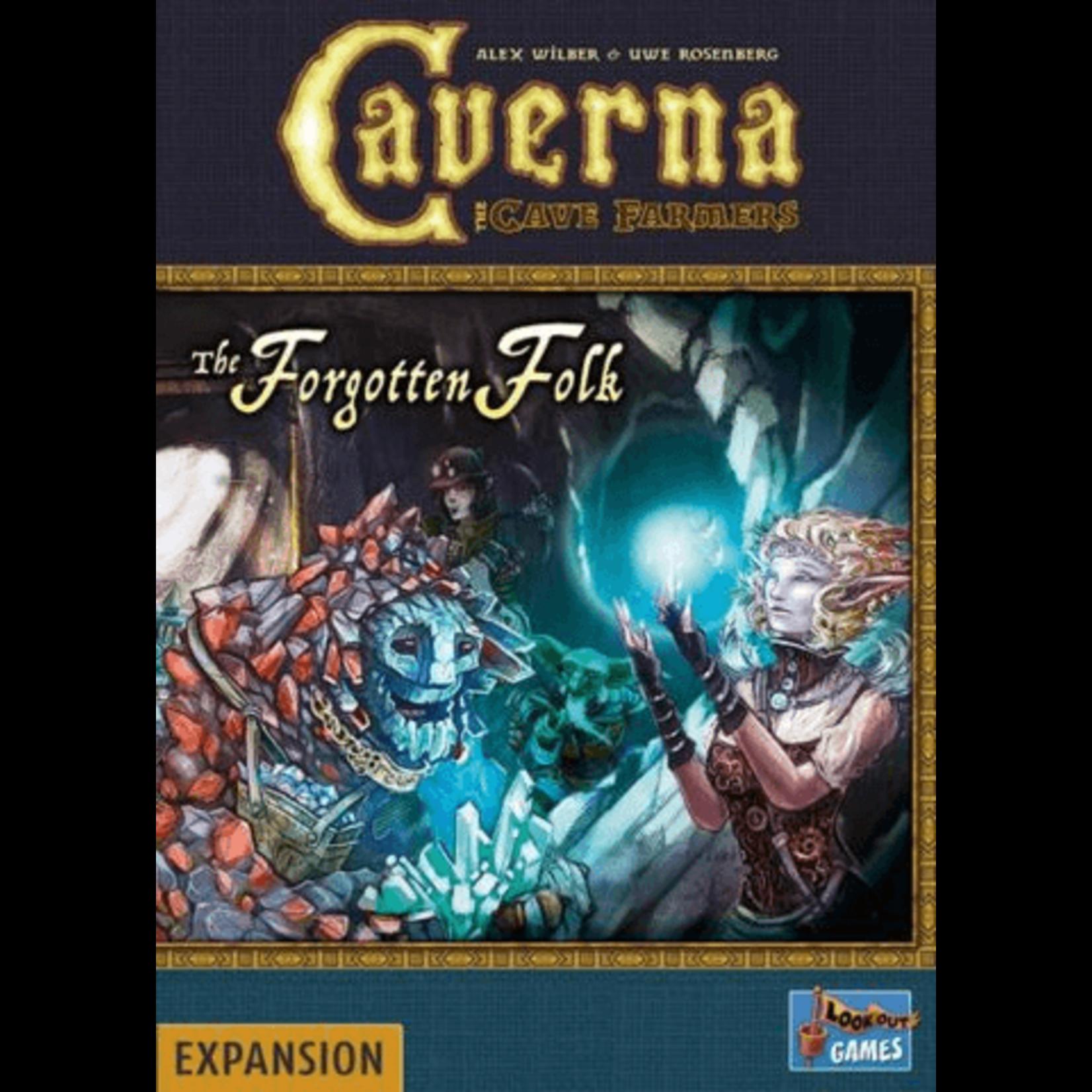 Lookout Games Caverna: Forgotten Folk Exp
