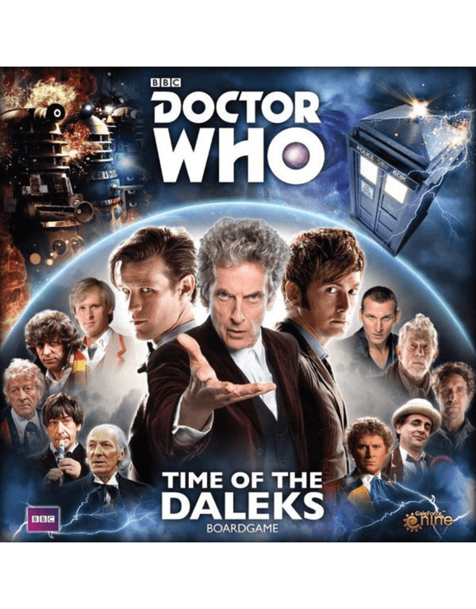 Gale Force Nine Doctor Who: Time of the Daleks