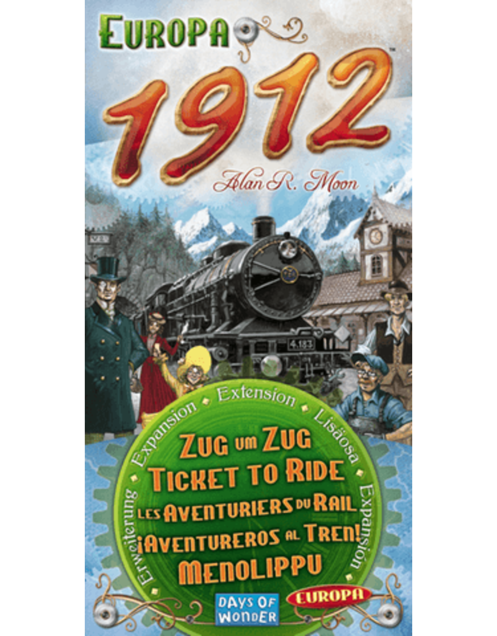 Days of Wonder Ticket to Ride: Europe 1912 Expansion