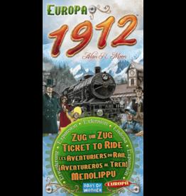 Days of Wonder Ticket to Ride: Europe 1912 Expansion