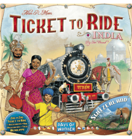 Days of Wonder Ticket to Ride: India